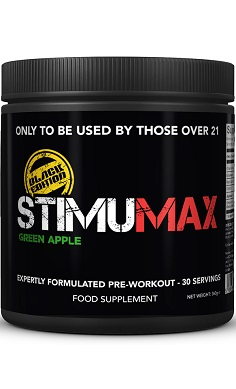 Strom StimuMax Black Edition pre-workout