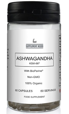 Supplement Needs Ashwagandha with BioPerine