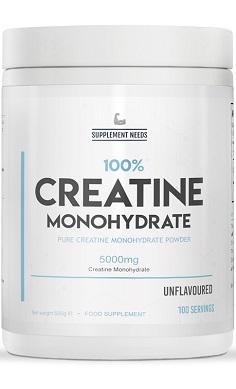 Supplement Needs Creatine Monohydrate
