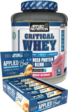 Applied Nutrition Critical Whey Protein OFFER 2