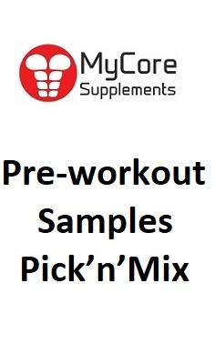 Pre-workout Samples – Pick'n'Mix