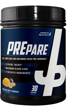 Trained by JP prepare preworkout