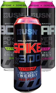USN Energy drink pick'n'mix