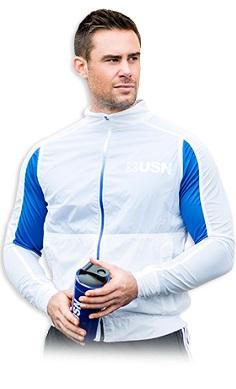 USN Men's Lightweight Jacket White