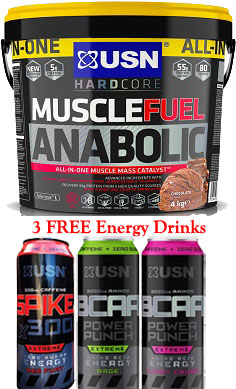 USN Muscle Fuel Anabolic (All-In-One) 4Kg offer