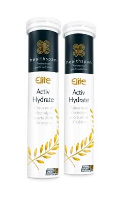 Healthspan Elite Activ Hydrate electrolyte tablets informed sport