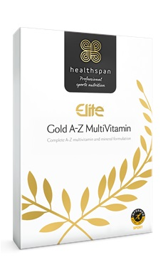Healthspan Elite Gold A-Z Multivitamin informed sport