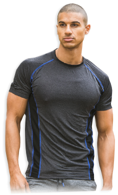 USN Men's performance t-shirt grey