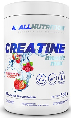 All Nutrition Creatine Muscle max 500g flavoured creatine