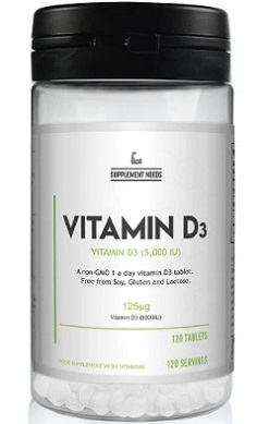 Supplement Needs Vitamin D3