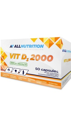 All Nutrition vitamin d3