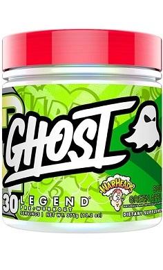 Ghost Legend Preworkout Warheads