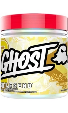 Ghost Legend Preworkout whiskey sour rob lipsett