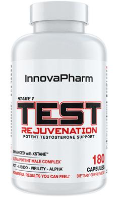 InnovaPharm Stage 1 Test Rejuvenation Test Booster Testosterone