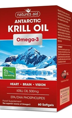 Natures Aid Krill Oil 500mg