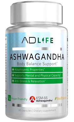 Project AD Life Ksm 66 ashwagandha