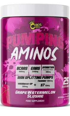 chaos crew pumping aminos