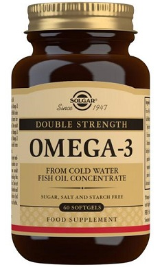 Solgar Double Strength Omega 3 Softgels