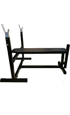flat weights bench