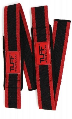 tuff-maxx-cotton-lifting-straps-with-neoprene-black-red