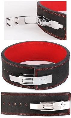 weightlifting belt lever