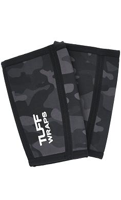 TUFF wraps Power Series Black Camo 7mm Elbow Sleeves